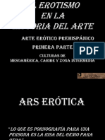 Arte Erótico Prehispánico. Primera parte. El erotismo en la Hª del Arte.