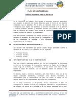 Plan de Contingencias SANTA MARIA DEL VALLE - LLACON