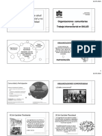 CLASE 2 Organizaciones comunitarias - Trabajo intersectorial en salud 2020.