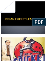 Indian Cricket League Merged