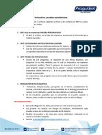 INSTRUCCIONES PRUEBAS PSICOTECNICAS