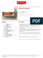 Gemuese Lasagne