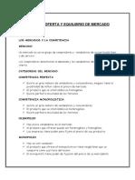 DEMANDA OFERTA Y EQUILIBRIO DE MERCADO