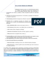 ENTENDENDO A FICHA TÉCNICA E CALCULANDO A LISTA DE COMPRAS (1)