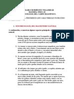 FENOMENOLOGÍA DEL CAMPO MAGNÉTICO - JEAN KARLO RODRIGUEZ