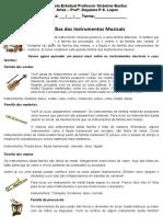As familias dos Instrumentos e atividade 7 ano.docx