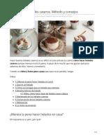 invitadoinvierno.com-Cómo hacer helados caseros Método y consejos