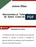 TALLER DE SOBRE COSTO DE LABOR 2015