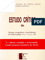 Estudo Critico Das Normas Ortograficas e
