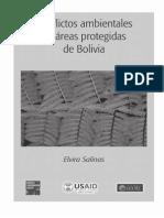 Conflictos Ambientales en Áreas Protegidas de Bolivia