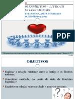 CEJB- Lei de Justica, Amor e Caridade