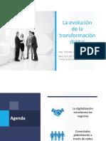 La evolución de la transformación digital