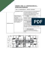ANALISIS   DE   INVERSION   PARA   LA   CONSTRUCCIÓN DEL   PROYECTO   DEVIVIENDA MULTIFAMILIAR