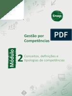 Módulo 2 - Conceitos, definições e tipologias de competências