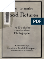 How to Make Good Pictures Kodak 1922