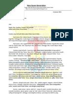 surat persatuan