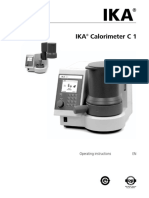 ika-c1-calorimeter-manual