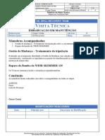 Relatório de Visita Técnica à Embarcação