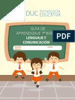 7° Básico Lenguaje y Comunicación Guía 1_
