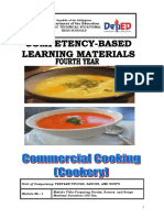 CBLM Commercial Cooking Fourth Year