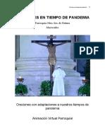 ORACIONES EN TIEMPO DE PANDEMIA -III-