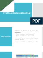 Protocolo neurosensorial