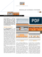 Schluter Bekotec Modular Screed System Brochure