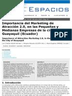 ARTICULO - Importancia del marketing de atraccion