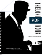 21368707 Thelonious Monk Fake Book Jazz Originals and Standards Piano Arr