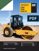 Especificaciones en  Español Vibrocompactador CAT CS54.pdf