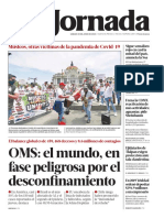Diario La Jornada 20 junio 2020