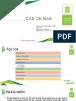 Estadísticas de campos de gas en Colombia