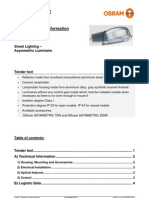 Osram Asymmetric Technical Datasheet