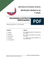 IT 06 Segurnça Estrutural das Edificações - MINAS GERAIS