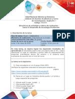 Guia traducida Unidad 3 - Tarea 5 - Desarrollo de tecnología Producción