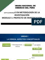 1 Taller en metodología de investigación