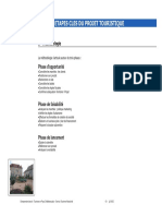 Les étapes clés du projet touristique (1)