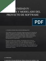 ANALISIS Y MODELADO DEL PROYECTO DE SOFTWARE