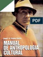 Angel Espina Barrio Manual de Antropologia Cultural