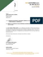 TG CARTA PRESENTACION CORMACARENA 1 SEM 2019