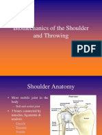 Bio Mechanics of the Shoulder and Pitching (1)