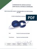 Guía de selección, ajustes y coordinación de las protecciones del SENI
