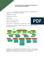 SISTEMA PARA LA ORGANIZACIÓN DE DOCUMENTOS DE ARCHIVO DE LA ALCALDIA DE SITIO NUEVO