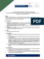 Protocolo para el ingreso de Vis, prov y contrat