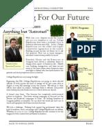Fall '09 Newsletter