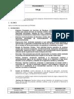P-SIG-CSA-023 - GESTION DE RESIDUOS