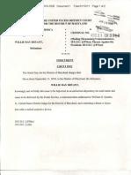 Willie R. Bryant Indictment