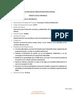 GUIA DE APRENDIZAJE - Inducción