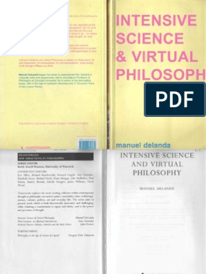 DeLanda, M  - Intensive Science and Virtual Philosophy [on