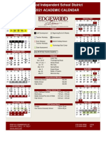 Edgewood ISD Calender